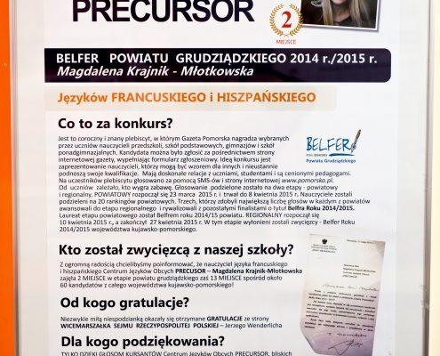 BELFER_Plakat_w_ramce_PRECURSOR
